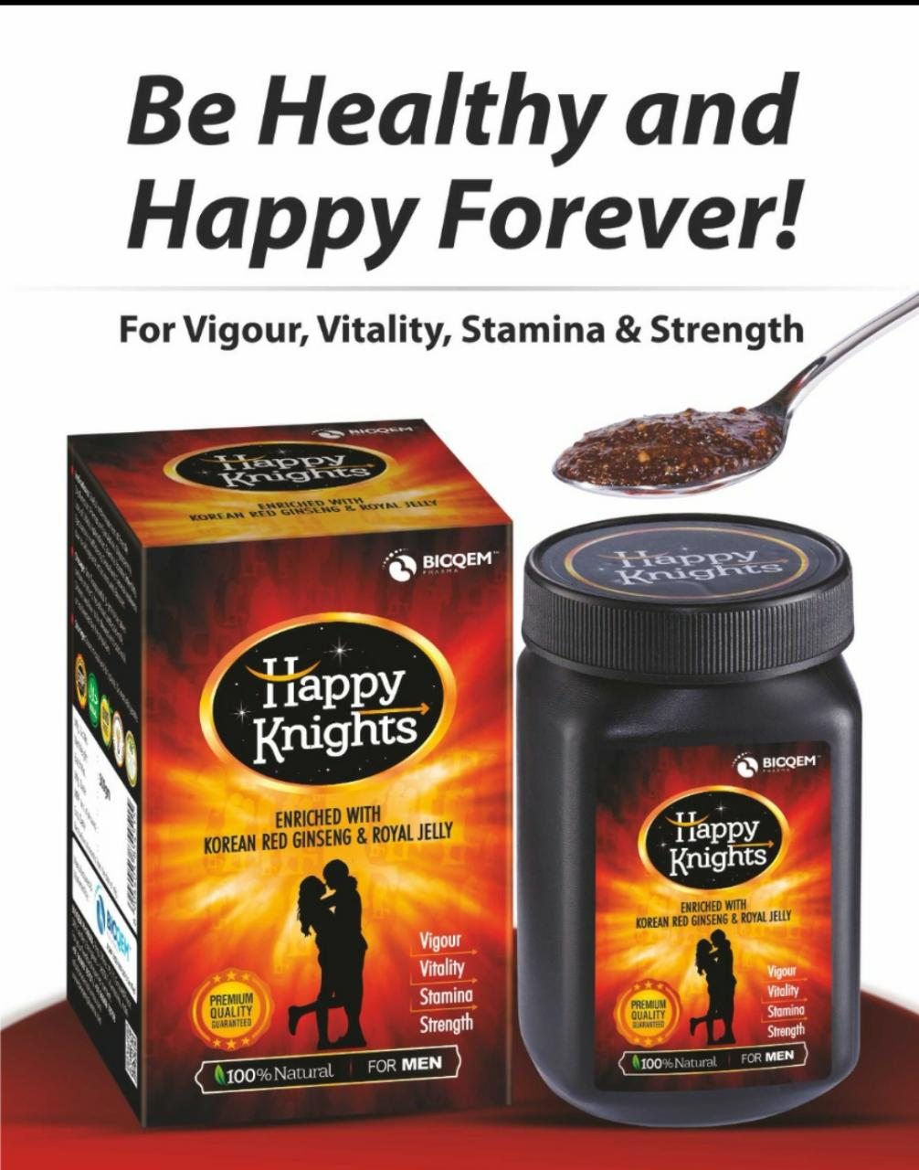 HAPPY KNIGHTS – STAMINA BOOSTER FOR MEN